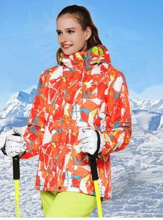 Outdoor Sport Colorful Women Jacket 090219