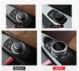 OEM idrive Car Multimedia Buttons Cover Replacement 211218