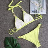Stylish Elegant Jewellery Bikini Set 271019