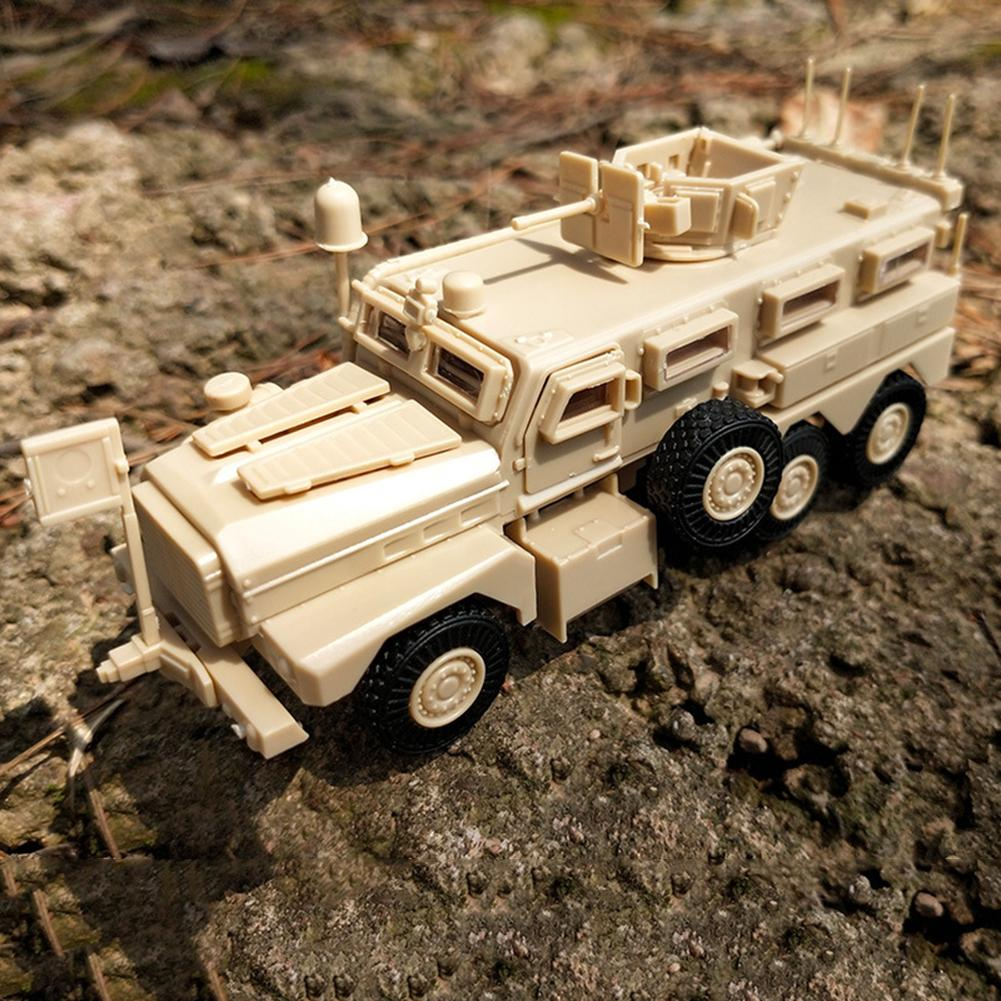 USA Mrap Cougar 6X6  2007 1/100 Assembling Model 011019