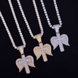 + Angel Wing Pendant Set 110119