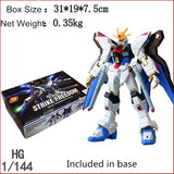 Anime ZGMF-X20A Assembly Model Set