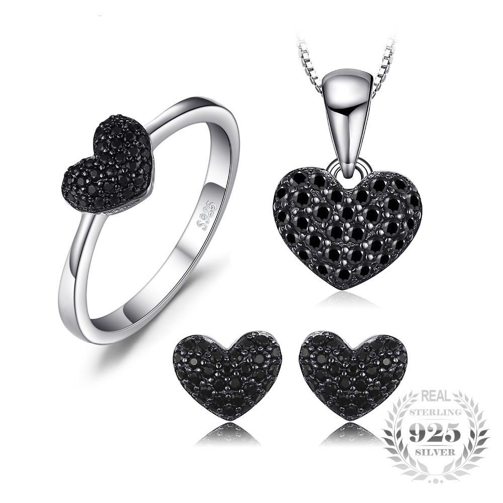 Heart Shape Jewellery Set
