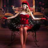 Sweet Christmas Cosplay Lingerie Set 191118