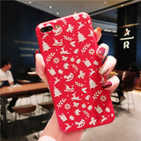❤iPhone Lovely Christmas Case 041118