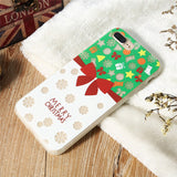 iPhone Christmas Luminous Cases 041118