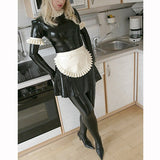 Latex Maid Cospaly 180819