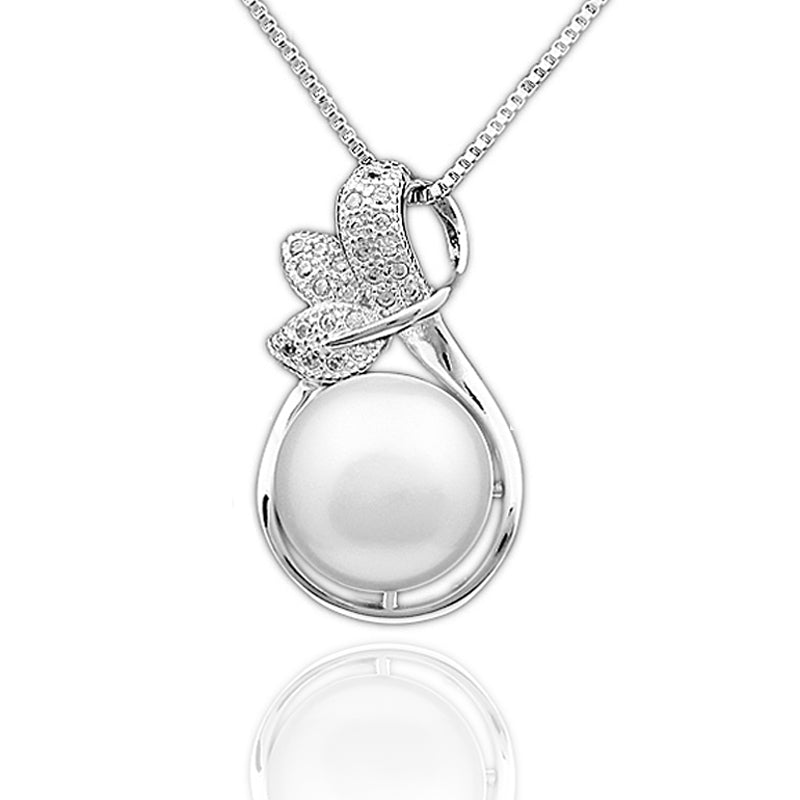 Silver Pearl Jewelry Sets