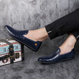 Loafers Luxury Men Shoes 241218