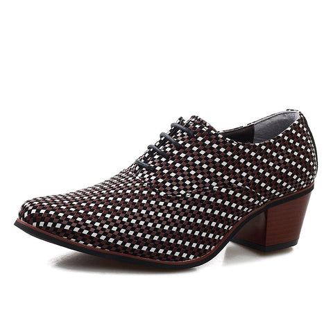 Dot Dot Men Luxury Leather Shoes 241218