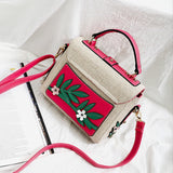 Lovely Birds Embroidery Handbag 090919
