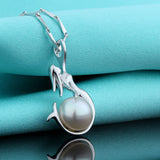 Mermaid Plus Pearl Plus Silver 925 Pedants