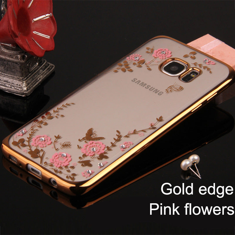 Samsung Flower Casing