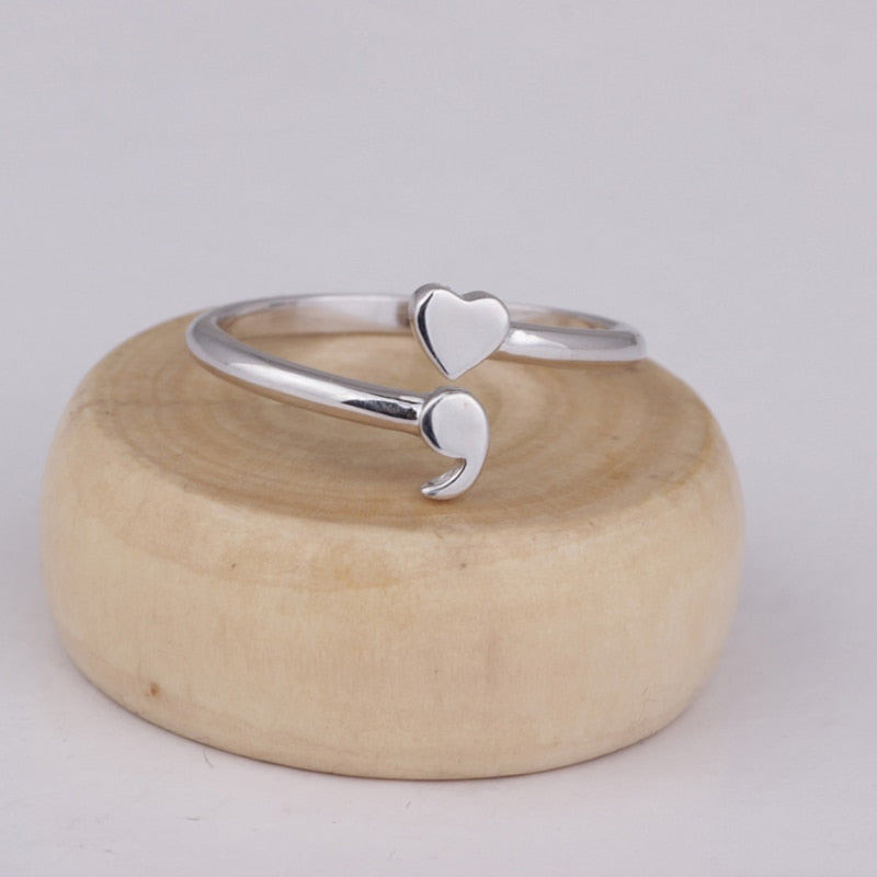 Love Love Silver 925 Sterling Rings 010619