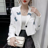 Korean Fashion Butterfly Coats