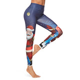 Santa Claus Christmas Fitness Pants 191118