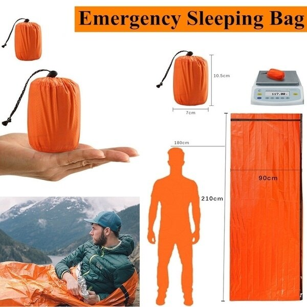 Outdoor Emergency Sleeping Bag 141219