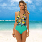 Colorful + Size One Piece Swimsuit 060119