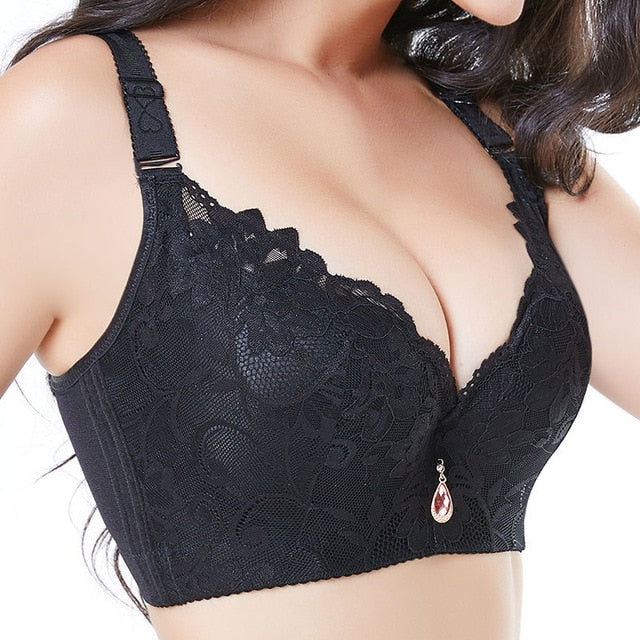 Plus Size Lace Bra 020118