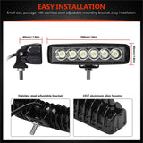 Automative 6 Inch LED Light  050519