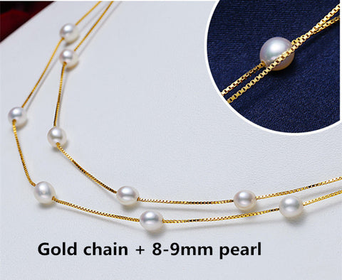 Pearl Silver 925 Necklace