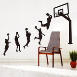 Basketball Player Wall Stickers 260619
