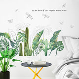 Refresh Tropical Wall Sticker 260619