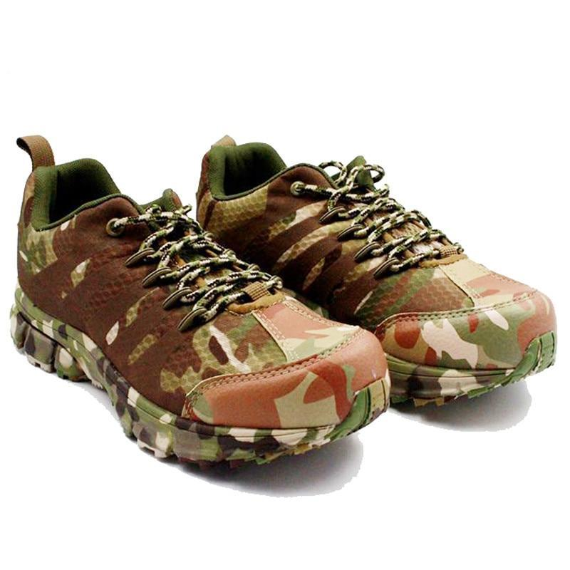 Outdoor Men Camo Hiking Shoes 241218