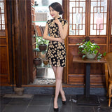 Luxury Cheongsam Dress 290818