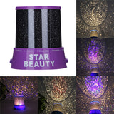 Star Moon LED Projector Light 090619