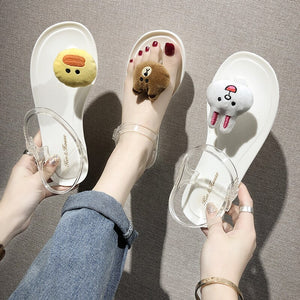 Lovely Cartoon Sandals 171119