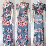 Beautiful Floral Maxi Dress  100719
