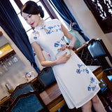 Luxury Cheongsam Dress 300818