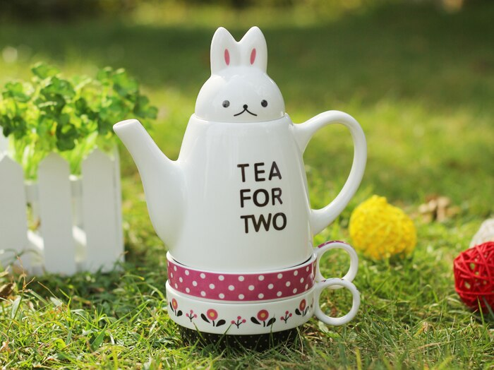 Lovely Rabbit Tea Cup Set 091219