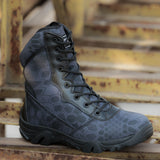 Men Outdoors Hiking Camo Boots 241218