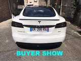 Carbon Fiber Spoilers For Tesla Model S Sedan All Model 2012-2016