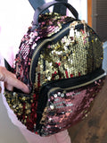 PU Leather Sequins Bag