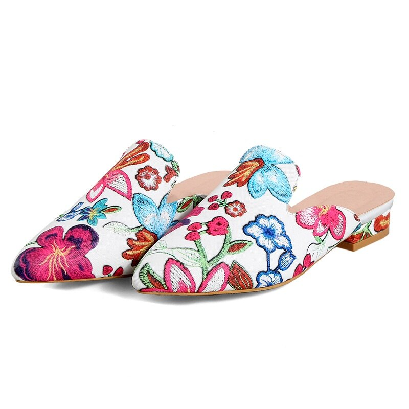 Colourful Flower Sandals Shoes 061019