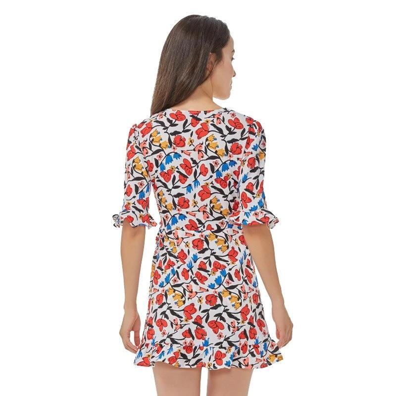 Vintage Colourful One-pieces Dress
