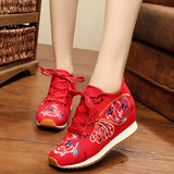Asian Flower Sport Shoe