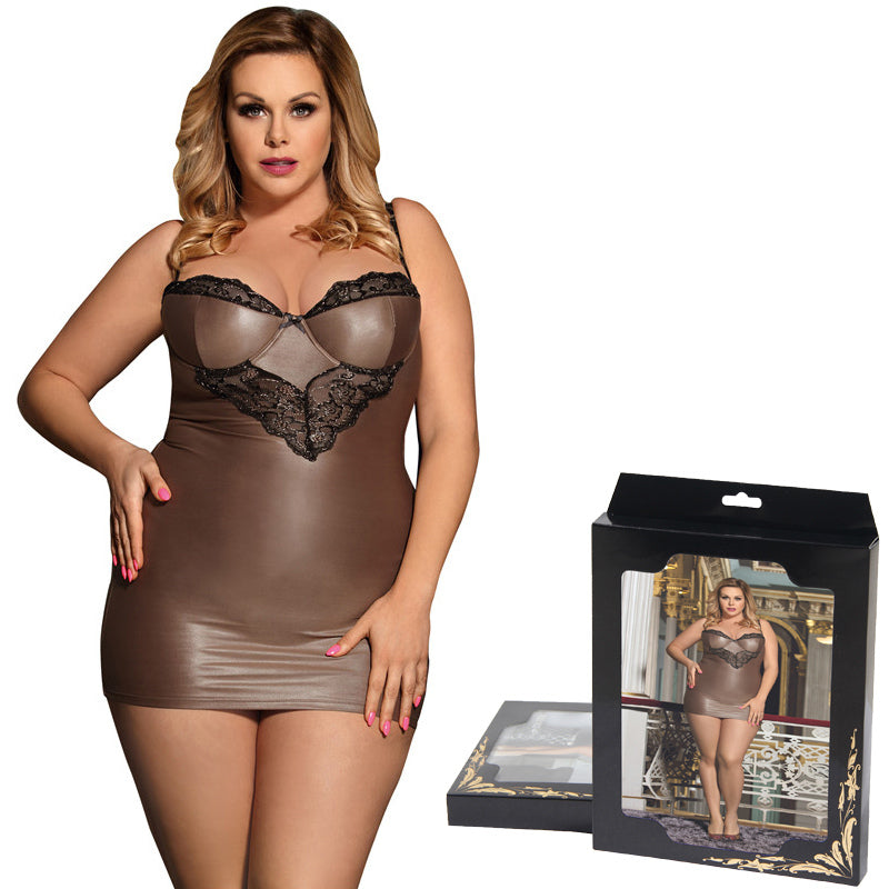Luxury Plus Size Gift Lingerie Set 261118