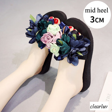 Colorful Flower Sandel Shoe 170519