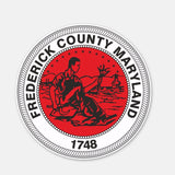 Frederick Country Maryland Sticker 180519