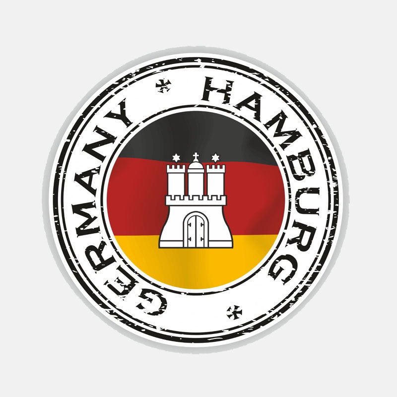 Germany Hamburg Sticker 200519