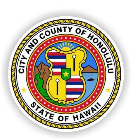 Honolulu City Sticker 220519