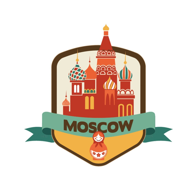 Lovely Moscow Sticker 200519