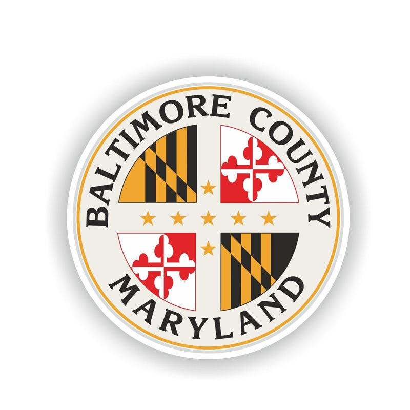 Baltimore County Maryland Sticker 180519