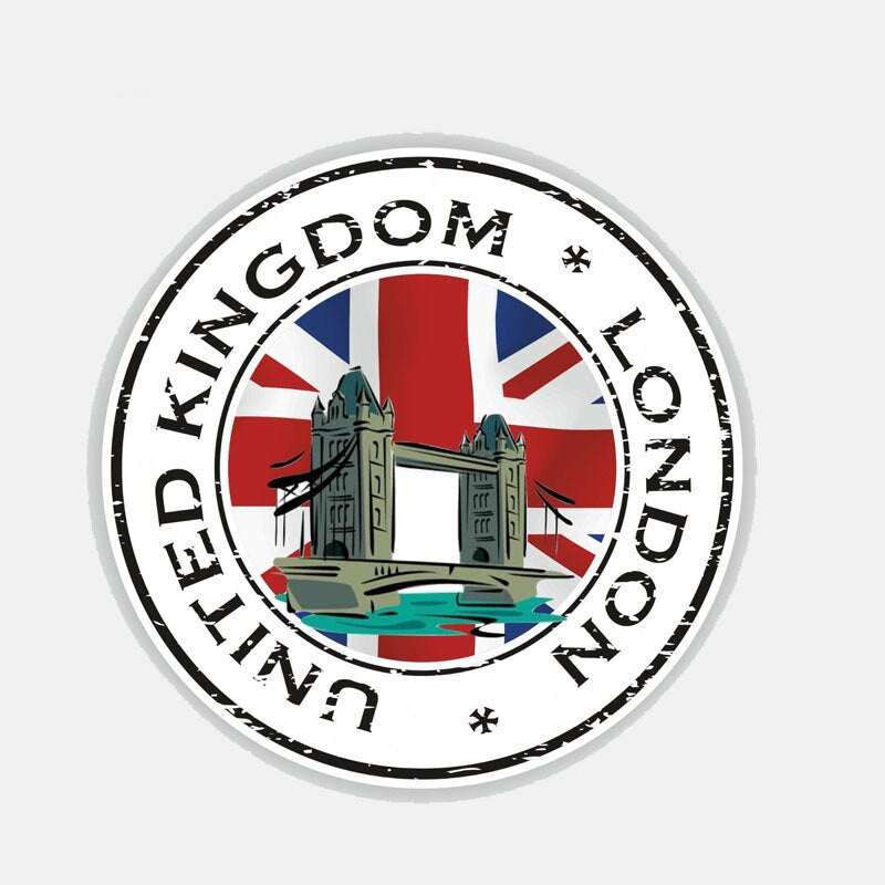 United Kingdom London Sticker 200519