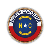 North Carolina Flag Sticker 200519