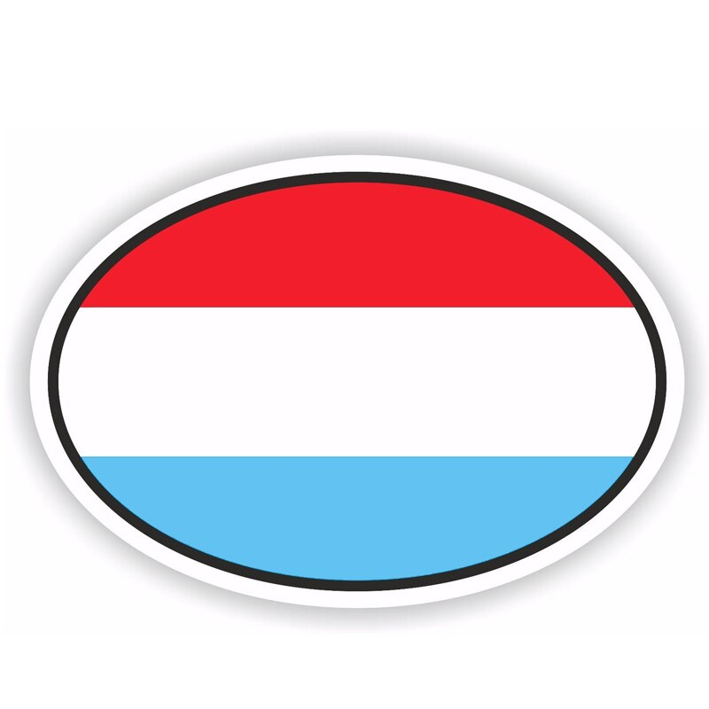 Luxembourg Sticker 180519